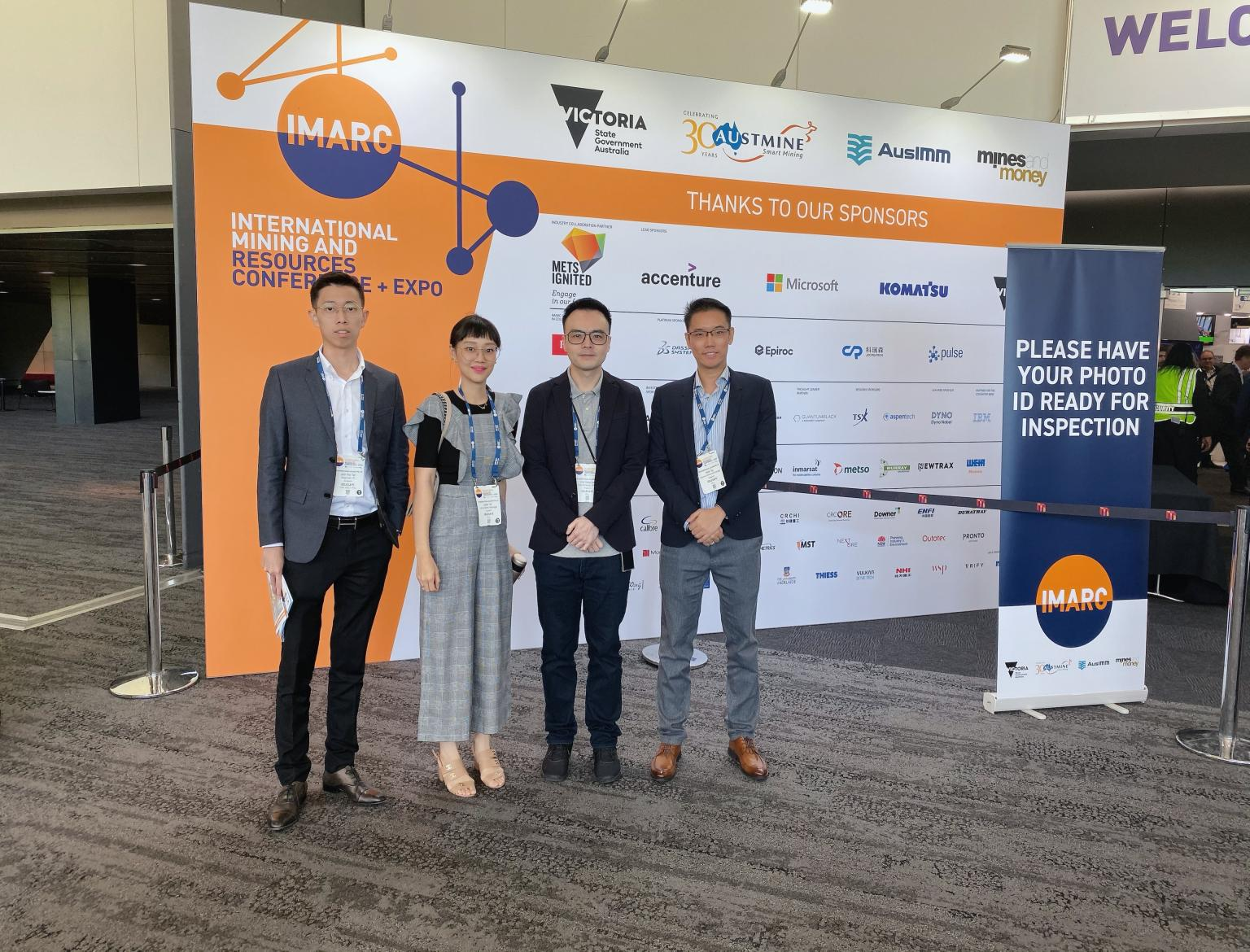 6th Annual International Mining and Resources Conference (IMARC) in Melbourne, Australia