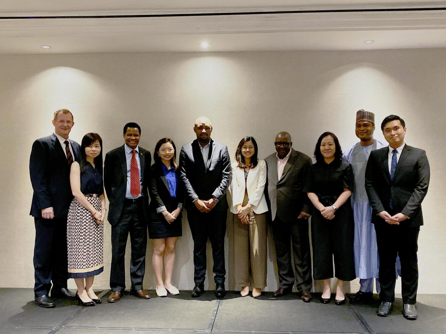 Sponsoring the runner up award for the held competition by Nanyang Business School, NTU—Singapore Business Federation Centre for African Studies