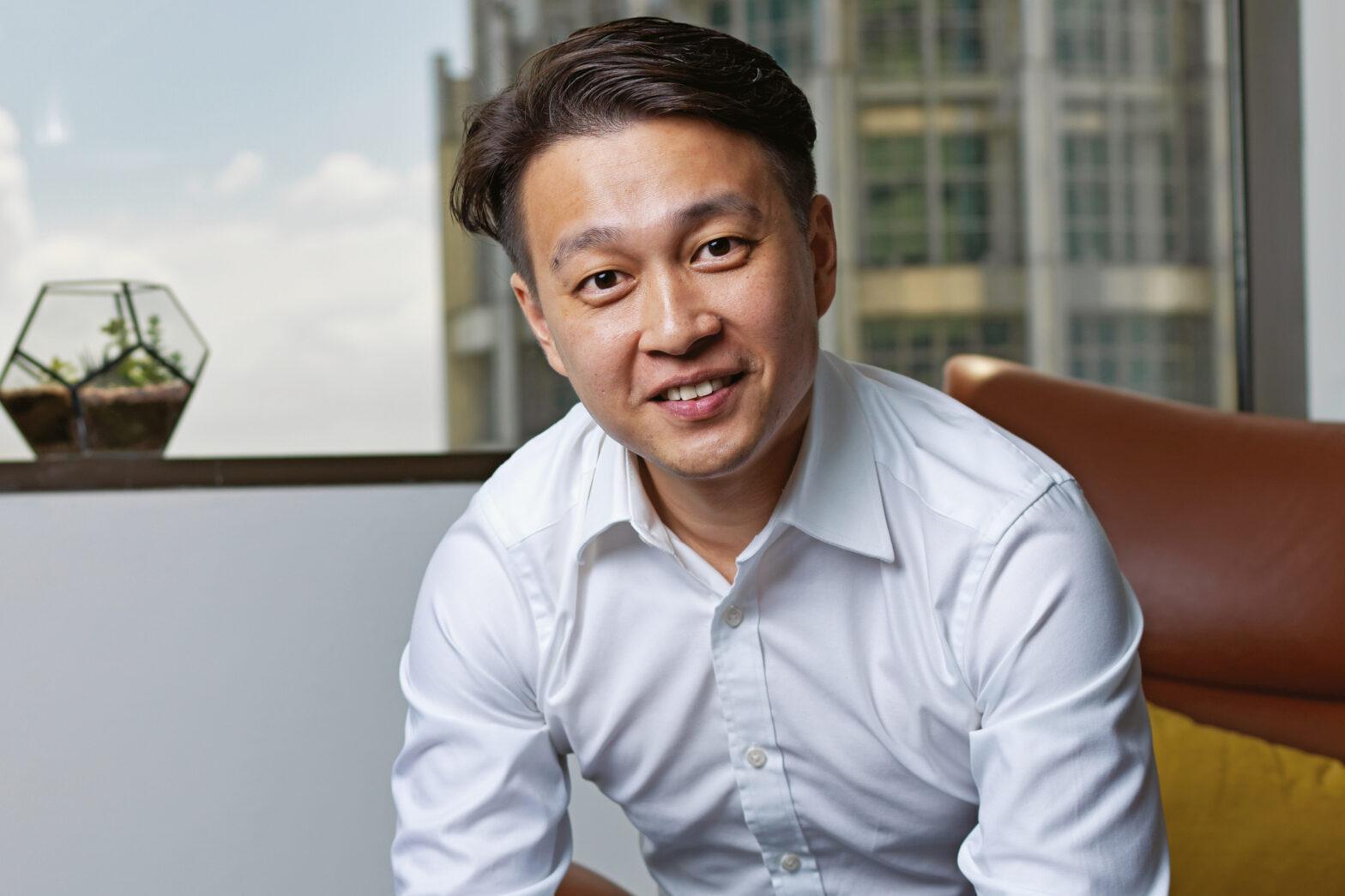 Born to lead: Victor Tan