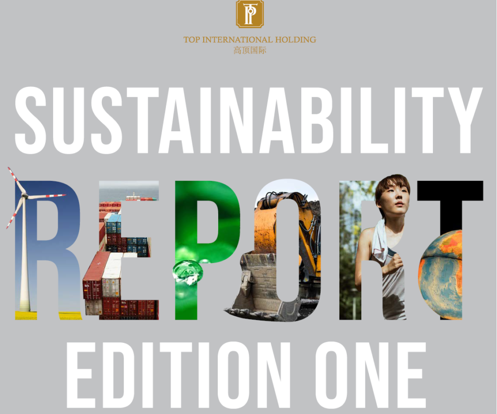 We launched our first edition of Sustainability Report!